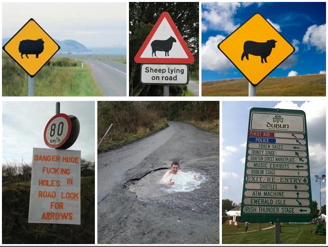 irske-znacky